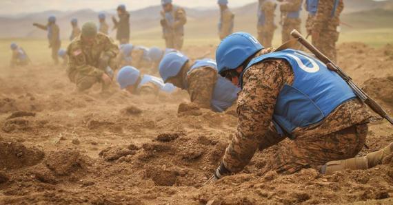 """Энхийн төлөө """"Хааны эрэлд"""": Монгол Улс болон даян дэлхийн энхийн ..."""