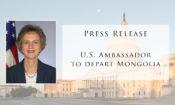 Press Release: Ambassador's Departure
